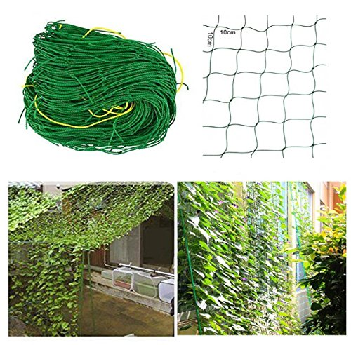 rg-vertrieb Ranknetz Rankhilfe Pflanzennetz Gartennetz Stütznetz Kletterpflanzen 6 Größen (1,8x5m)