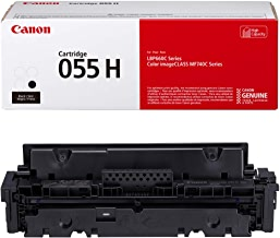 Cartridge 055 Black High Capacity ‐ Yields up to 7,600 Pages