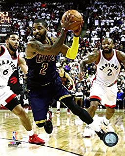 Kyrie Irving Cleveland Cavaliers 2016-17 NBA Playoff Action Photo (Size: 11