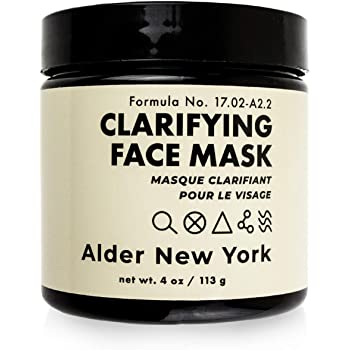 Clarifying Face Mask- Detoxifying Activated Charcoal & Willow Bark Exfoliating Mud Mask