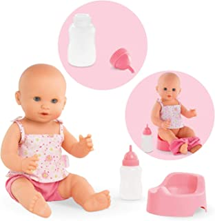Corolle Mon Grand Poupon Emma Drink &-Wet Bath Baby Toy Baby Doll