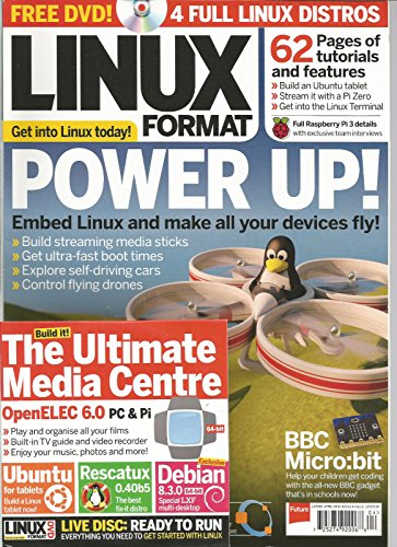LINUX FORMAT UK MAGAZINE APRIL 2016 ISSUE 209 FREE DVD