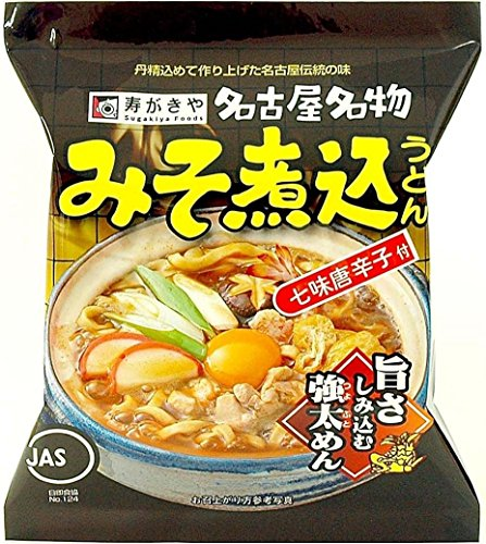 寿がきや食品 寿がきや みそ煮込うどん 91g×10食入 3ケース30食