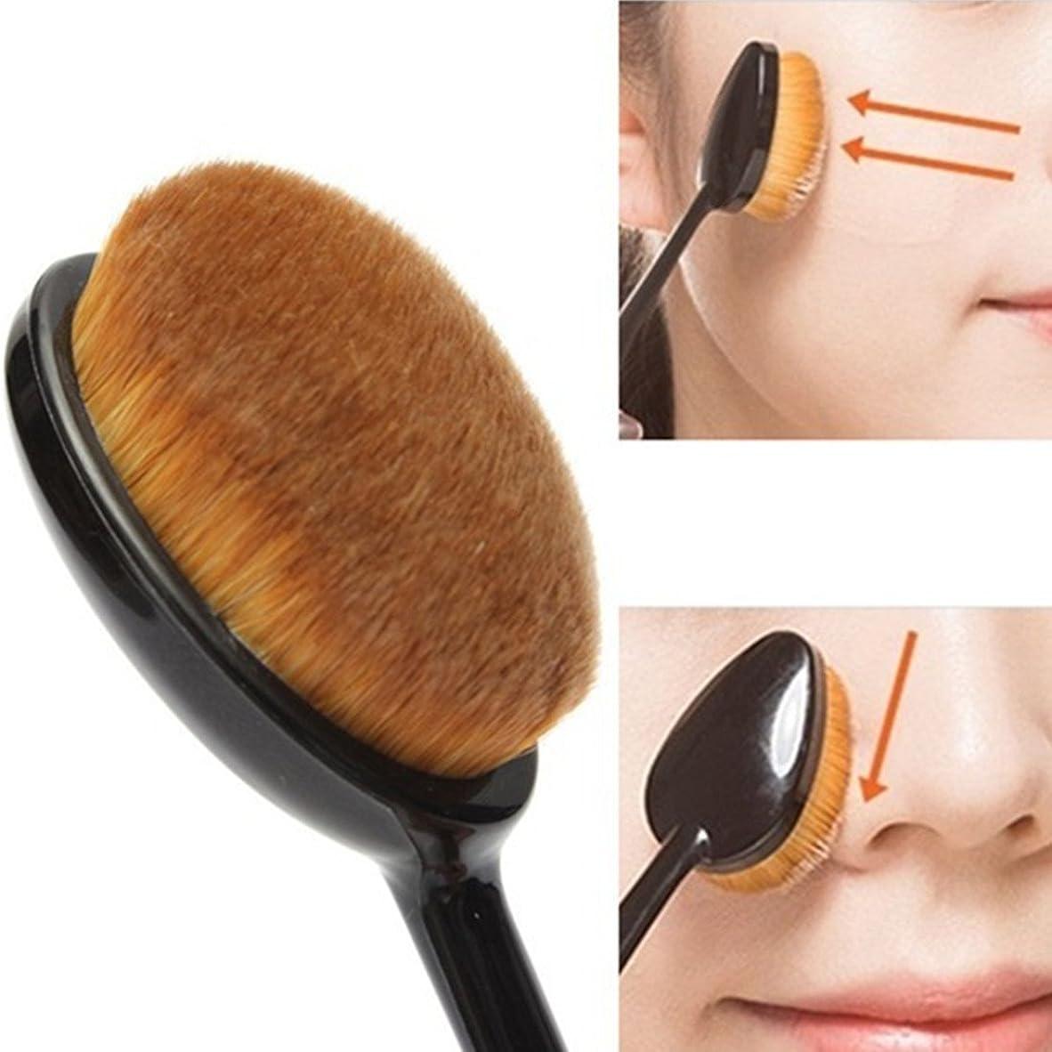 過ち森林吹きさらしVmakers ファンデーションブラシ 人工毛歯 プラシ型 凸凹型 化粧工具 一本 (歯ブラシ) 女性用 触り気持ちがよい