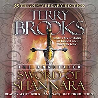 The Annotated Sword of Shannara: 35th Anniversary Edition audiobook cover art