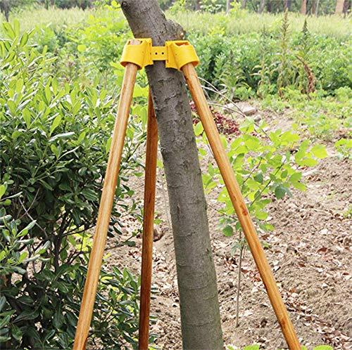 Gartenarbeit TPR Obstbaum Fixierung Unterstützung Werkzeug Pflanzen Windschutz Bindung Halter Kit