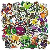 Gioco Fabbrica Vs Zombie Adesivo Fai Da Te Del Computer Portatile Chitarra Decal Mobile Moto Auto Casco Bambini Giocattolo Del Fumetto Sticker 50 Pz