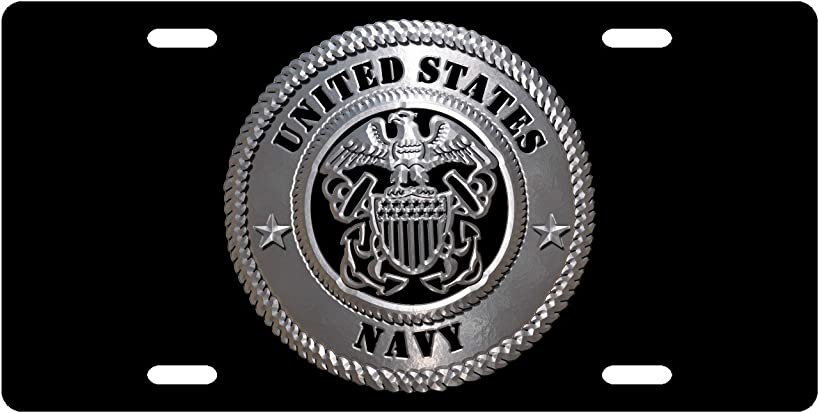 US Navy - License Plate Novelty Tag from Redeye Laserworks