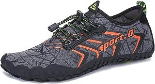 UBFEN Zapatos de Agua Hombre Mujer Zapatillas Snorkel Bucear