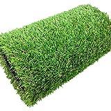 WJ Tapis synthétique d'herbe synthétique de tapis de gazon synthétique d'ornement vert en plastique de haute densité de jardin pelouse de faux jardin, taille personnalisable ( Size : 2*5m )