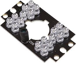 KESOTO 18 LEDs Infrared IR Board 850nm 12V for Bus Surveillance Cameras