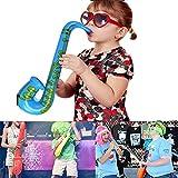Yojoloin 12 STÜCKE Inflatables Gitarre Saxophon Mikrofon Luftballons Musikinstrumente Zubehör Für Party Supplies Party Favors Ballons Zufällige Farbe (12 STÜCKE) - 4