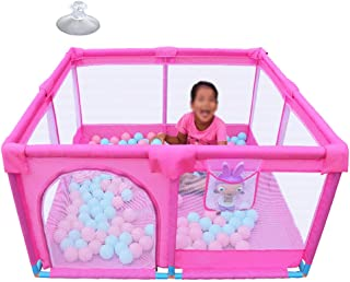 L TSA Safety Play Yard  Baby Playpen  Safety Activity Centre  Home Indoor Outdoor New Pen  Portable Assembled  128x128x66cm