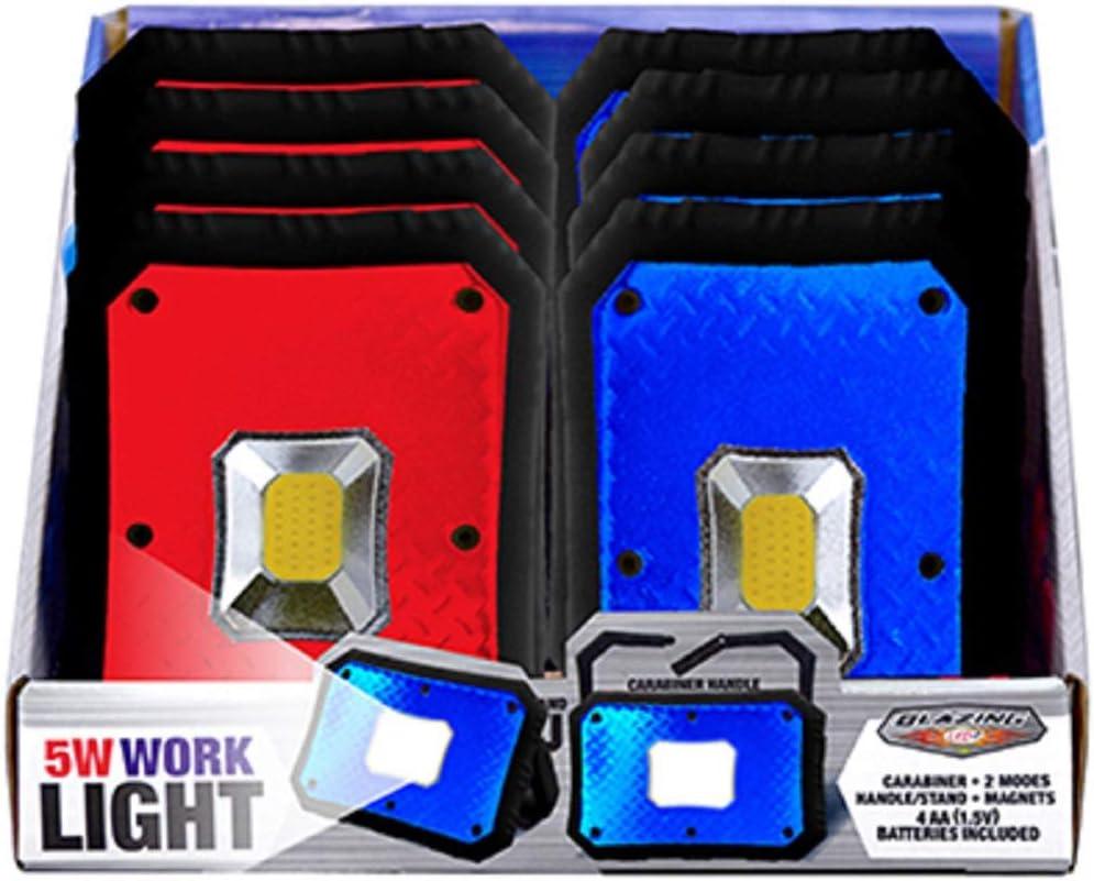 Shawshank LEDz Luxury Easy-to-use goods LED Work 1 Light pk Plastic