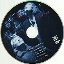 THE X-Files Season 5 Disc 4 Replacement Disc Episodes 13-16!