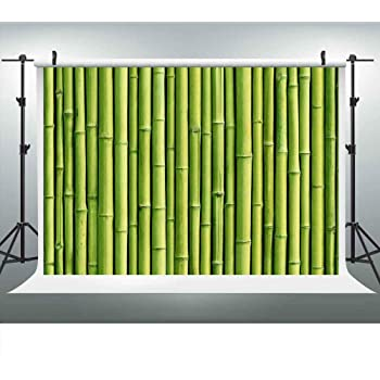 9x6Ft Vinyl Bamboo House Decor Backdrop for Photography,Traditional Bamboo Leaves Meaning Wisdom Growth Renewal Unleash Your Power Artprint Background Newborn Baby Photoshoot Portrait Studio Props Bir