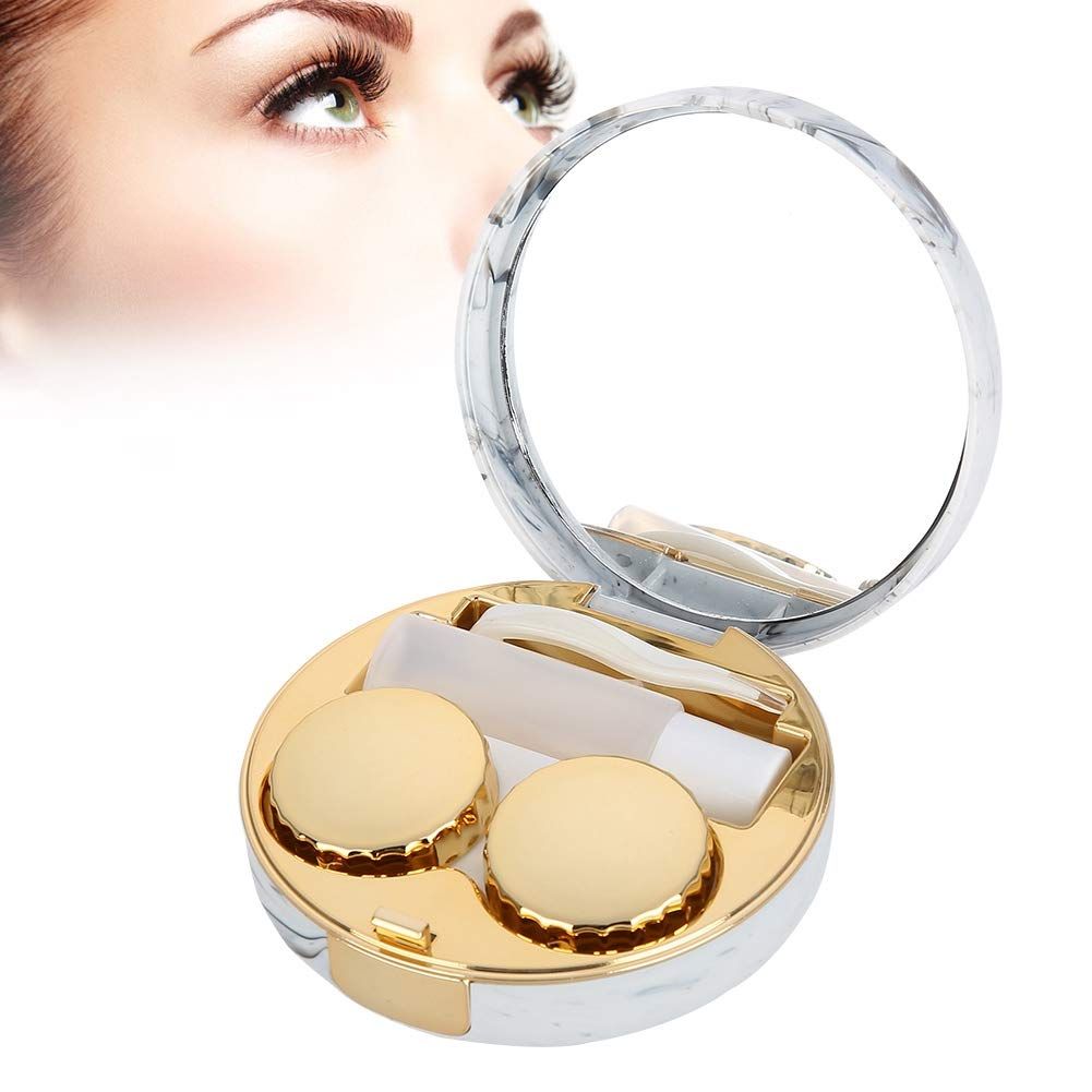 Contact Lens Box 4 colors Soaking Ranking TOP18 Direct stock discount Portable lenses p case
