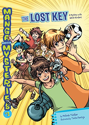 The Lost Key: A Mystery with Whole Numbers (Manga Math Mysteries Book 1) (English Edition)