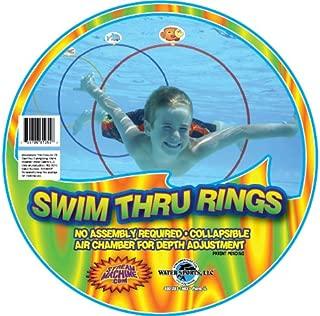 Water Sports Swim Thru Rings, 3 Pack