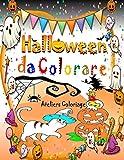 Halloween da Colorare: Libri Halloween per Bambini da 4 Anni: Libri da Colorare per Bambini con una Collezione di 40 Bello Disegni di Halloween (Libri da Colorare Bambini)