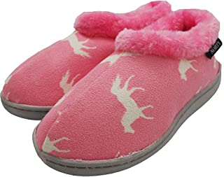 Image of Pink Horse Slippers for Girls and Toddlers