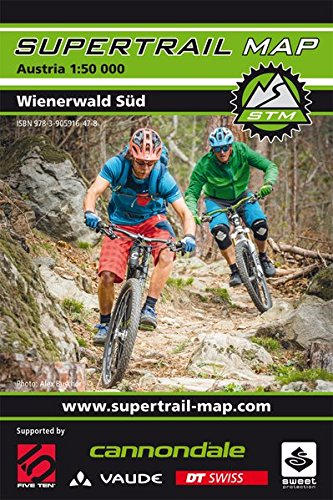 Supertrail Map Wienerwald Süd: Maßstab 1:50 000