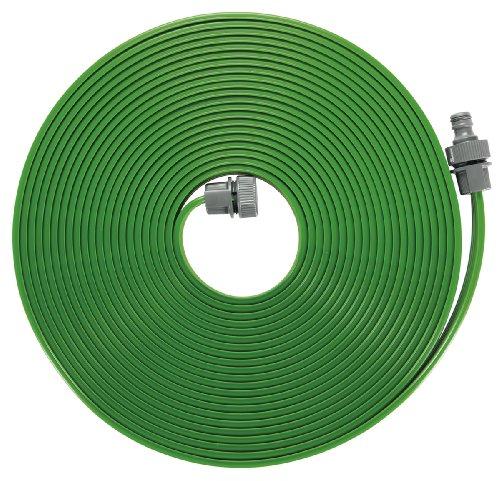 Gardena Schlauch-Regner: Sprühregner für die Bewässerung länglicher, schmaler Zonen, Länge 7.5 m, anschlussfertig ausgestattet, grün, individuell verkürz- oder verlängerbar (1995-20)