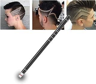 موی تیزر موی تاتو مو برای طراحی مو دستگاه شکل گیری چهره از جنس استیل ضد زنگ ، قلم حکاکی شده / 10 تیغه / تیشرر ابرو یک ظاهر طراحی شده مو ابرو ابزار ریش تراش