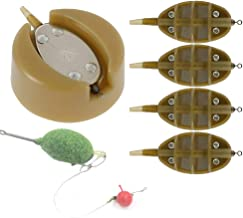 Feeders and Moulds Brown for Carp Fishing 15//20//25//35g 30//40//50//60g Etern 8PCS Fishing Inline Feeders Croch Fishing Inline Method Feeder with Quick Release Mould