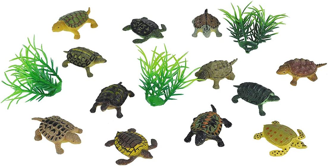 Wild Republic Mini Turtle Max 64% OFF Polybag Gifts New color Educational Kids Toys