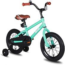 JOYSTAR Totem Kids Bike with Training Wheels for 12 14 16 inch Bike, Kickstand for 18..