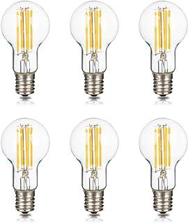 Haian Support フィラメント電球 E17口金 40W形相当 ミニクリプトン電球 4W LED電球 電球色 3000k 440lm シャンデリア 広配光タイプ 調光器非対応 A40 6個入り
