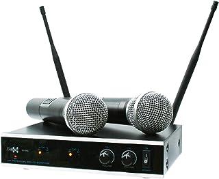 E-Lektron IU-2082 digital UHF wireless microphone system 2xhand-held wireless microphone set
