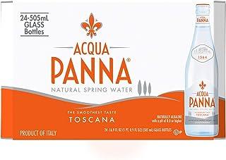Acqua Panna, Acqua Panna Agua Mineral, 505 ml, Paquete de 24 Piezas