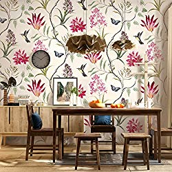 Floral Vintage Wallpaper for Livingroom Bedroom Kitchen Bathroom XC99302