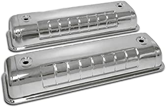 Fits 1955-64 Ford Y Block 272 292 312 Chrome Steel Valve Covers 3.5