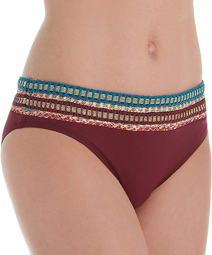 La Blanca Women's Banded Hipster Bikini Swimsuit Bottom