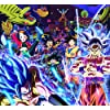 DIYパズル1000ピースドラゴンボールZ悟空&ベジータ漫画キャラクター木製パズルクリエイティブアダルト教育玩具(75X50cm),C
