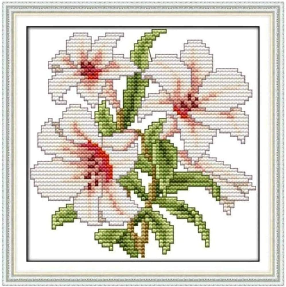 BaiJaC Cross Stitch Kits NEW before selling Free shipping on posting reviews ☆ Tapestry Embroidery Ho Set Flower Small