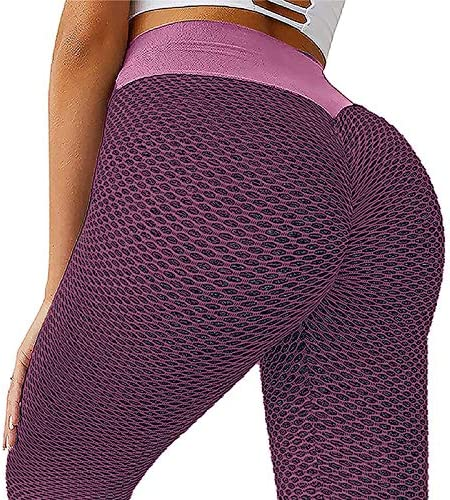 Famous TikTok Leggings for Women Ruched Butt Lifting High Waist Yoga Pants WEUIE Tummy Control product image
