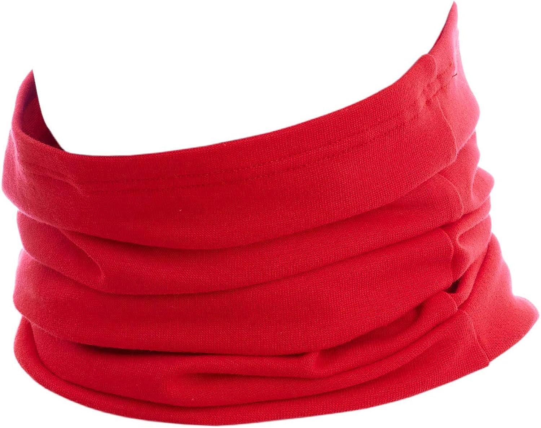 Hilltop Motorrad Halstuch Multifunktionstuch Schlauchtuch Bandana Schal 100 Baumwolle Für Damen Und Herren Farbe Design Rot Bekleidung