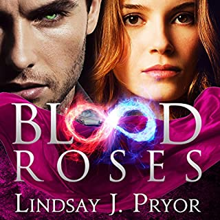 Blood Roses audiobook cover art