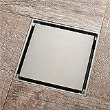 PLJHWW rame pavimento di scarico filo disegno deodorante nucleo anti-insetto anti-ritorno acqua profonda acqua acqua bassa invisibile pavimento scarico