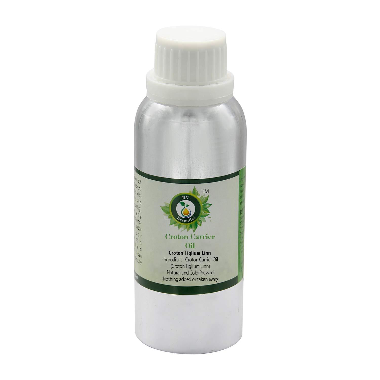 R V Essential Croton Carrier Oil - 10oz 優先配送 300ml Tiglium Li 上質