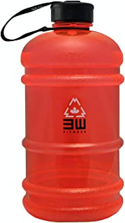 Hydrator Water Bottle 2.2L - BPA Free, Twist on Cap, Stain & Odor Free, Dishwasher Safe for Gym & Sports