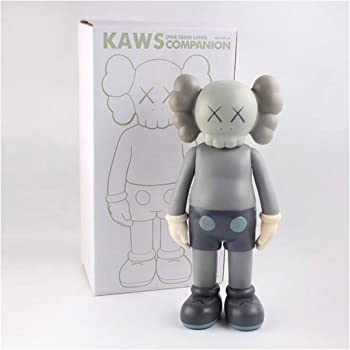 New 12 Inches Exclusive OriginalFake KAWS SMALL LIE GRAY Action Figure