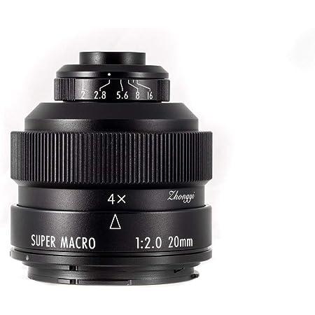 ZHONG YI OPTICS Mitakon Zhongyi 20mm f/2 Super Macro for Sony E Mirrorless Digital Cameras