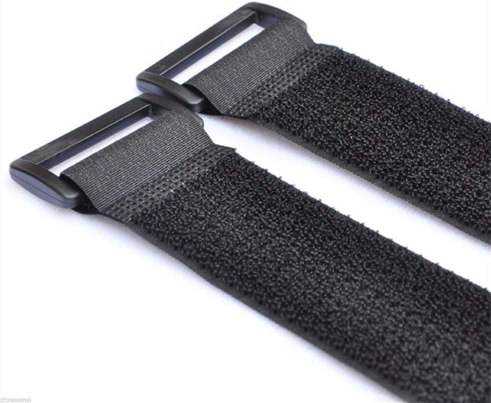 3cm Width Hook Loop Max 55% OFF Cable Tie Management It is very popular Strap Nylon wire Blac
