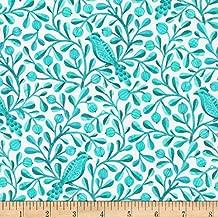 Cloud9 Organic Birds & Branches Felipe Quilt Fabric