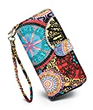 LOVESHE Women's New Design Bohemian Style Purse Clutch Bag Card Holder New Fashion (TY)
